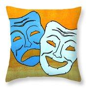 Lib-519 Throw Pillow