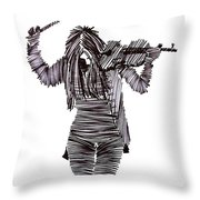 Lib-605 Throw Pillow