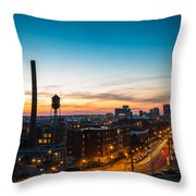 Libbie Hill In March Throw Pillow