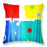 Liberdade Freedom Throw Pillow