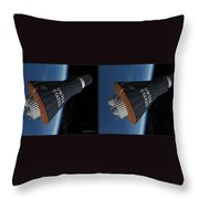 Liberty Bell 7 - Gently Cross Your Eyes And Focus On The Middle Image Throw Pillow