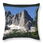 Liberty Bell Mountain Throw Pillow