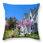 Liberty Carpenter Gothic Throw Pillow