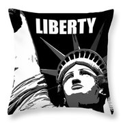 Liberty Classic Work A Throw Pillow