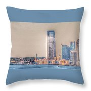 Liberty In The Distance Throw Pillow