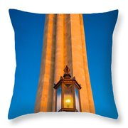 Liberty Memorial Throw Pillow