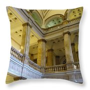 Library 7 Throw Pillow