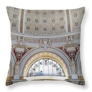 Library Of Congress 1 Throw Pillow