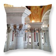 Library Of Congress 2 Throw Pillow
