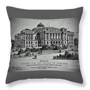 Library Of Congress Proposal 2 Throw Pillow