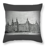 Library Of Congress Proposal 4 Throw Pillow