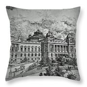 Library Of Congress Proposal 5 Throw Pillow
