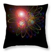 Light And Energy Throw Pillow