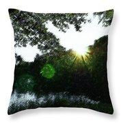 Licht Throw Pillow