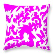 Lickety Split Throw Pillow by Eikoni Images