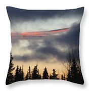 Licorice In The Sky Throw Pillow