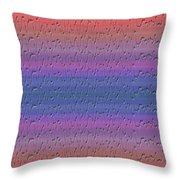Lie Detector Abstract Design Throw Pillow