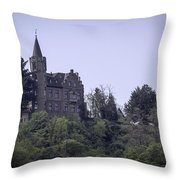 Liebeneck Castle 05 Throw Pillow