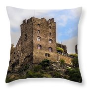 Liebenstein Castle Throw Pillow