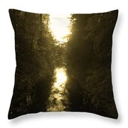 Liesijoki 3 Throw Pillow