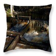 Liesijoki Mill Throw Pillow
