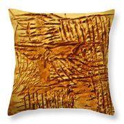 Life - Tile Throw Pillow