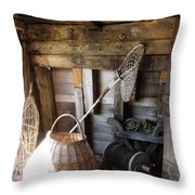 Life Aboard The Mayflower 2 Throw Pillow