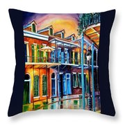 Life After Dark Throw Pillow