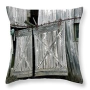 Life Among The Ruins Throw Pillow
