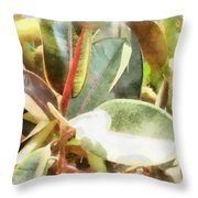 Life Anew Throw Pillow