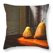 Life As A Pear Throw Pillow