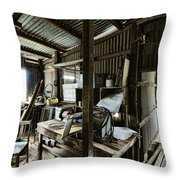 Life As A Shed  Throw Pillow