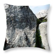 Life At Creevykeel Court Cairn Sligo Ireland Throw Pillow