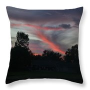 Life Behind The Trees Throw Pillow