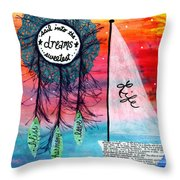 Life Boat Sweet Dreams Throw Pillow