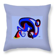 Life Circuits Throw Pillow