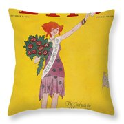 Life Cover, 1926 Throw Pillow