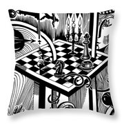 Life Game Throw Pillow