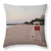 Life Guard 3 D  Throw Pillow