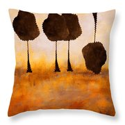 Life Has It's Ups And Downs Throw Pillow