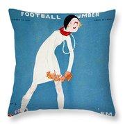 Life: Hold Em, 1925 Throw Pillow