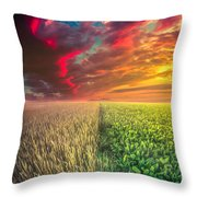 Life In Abundance  Throw Pillow