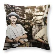 Life In Australia 1901 To 1914 Throw Pillow