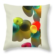 Life In Color Throw Pillow