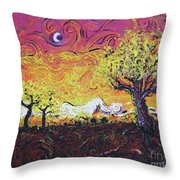 Life In Decay Throw Pillow