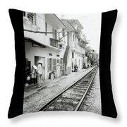 Life In Hanoi Throw Pillow