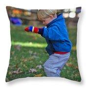 Life In Perfect Balance Throw Pillow