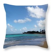 Life In The Country Hawaii Throw Pillow