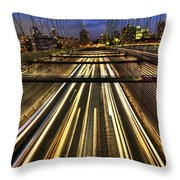 Life In The Fast Lane Throw Pillow