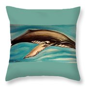 Life In The Ocean Throw Pillow